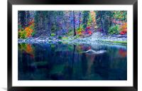Ghostly Reflections , Framed Mounted Print