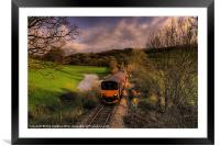 Taw Valley, Framed Mounted Print
