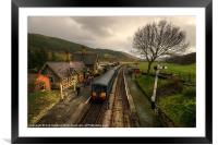 Dmu at Carrog, Framed Mounted Print