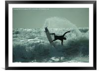 Wipeout , Framed Mounted Print