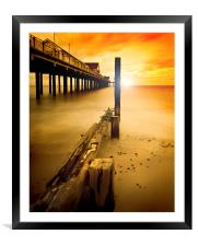 New~Dawn  Southwold, Framed Mounted Print