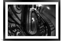 Staircases, Framed Mounted Print