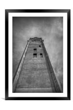 Tower, Framed Mounted Print