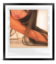 Dream muse, Framed Mounted Print