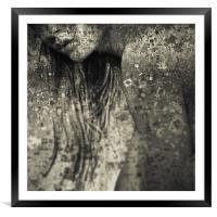 Muse, Framed Mounted Print