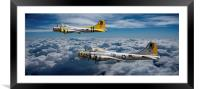 Liberty Belle and Fuddy Duddy, Framed Mounted Print