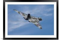 The Mighty Vulcan Bomber, Framed Mounted Print