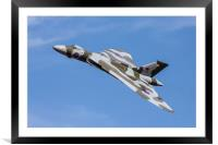 XH 558 at Duxford 2012, Framed Mounted Print