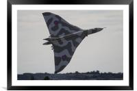Incredible Vulcan Take off RIAT 2015, Framed Mounted Print