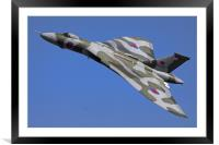 Avro Vulcan Bomber XH558 at RIAT Air Show, Framed Mounted Print