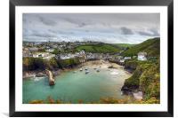 Port Isaac Harbour, Framed Mounted Print