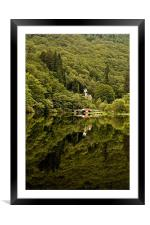 Jewel of the Trossachs, Loch Ard, Scotland, Framed Mounted Print