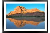 Goldbar's Reflection, Framed Mounted Print