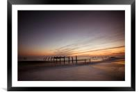 Just another day at the beach, Framed Mounted Print