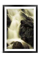 The Falls, Framed Mounted Print