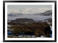 Coniston Valley, Framed Mounted Print