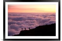 Above the Clouds, Framed Mounted Print