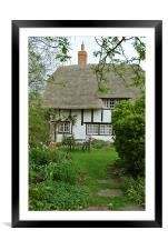 Old Church Cottage, Long Marston, Framed Mounted Print