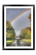 Beardmore Taxi, Framed Mounted Print