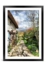 The Garden Path, Framed Mounted Print