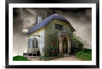 Gothic Cottage 2, Framed Mounted Print