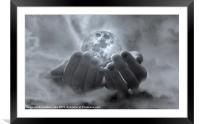 Catch the Moon, Framed Mounted Print
