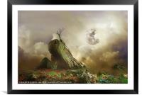 Somewhere Over the Rainbow, Framed Mounted Print