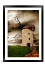 Storm in the Sails, Framed Mounted Print
