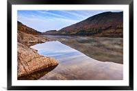 Autumnal Thirlmere, Cumbria, Framed Mounted Print