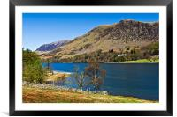 Hassness House, Buttermere, Framed Mounted Print