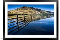 Buttermere Fell, Cumbria, Framed Mounted Print