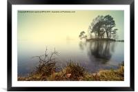 Tarn Hows, Cumbria, Framed Mounted Print