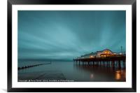 Cleethorpes Pier, Lincolnshire, Framed Mounted Print