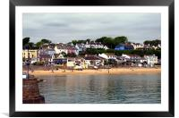 Saundersfoot.Pembrokeshire., Framed Mounted Print