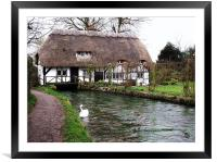 Old Mill Cottage - Alresford, Hampshire, Framed Mounted Print