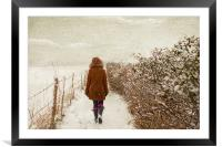 finding narnia, Framed Mounted Print