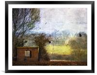 Fly away home, Framed Mounted Print