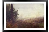 Lost in Time, Framed Mounted Print