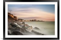 Aberystwyth on the Rocks (Second edition), Framed Mounted Print