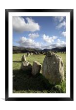 Castlerigg Stone Circle, Framed Mounted Print