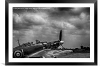 Covers Off 2 Black and White , Framed Mounted Print