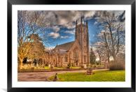 Church of St Thomas à Becket.  Northaw.   Herts, Framed Mounted Print