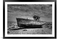 Dungeness Boat Days gone By, Framed Mounted Print