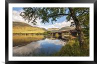 Railway Viaduct Over River Orchy, Framed Mounted Print