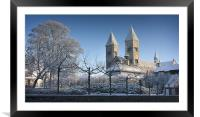 Viborg Cathedral, Framed Mounted Print
