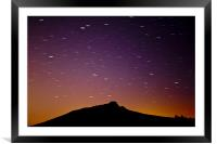 Mither Tap Shooting Star, Framed Mounted Print