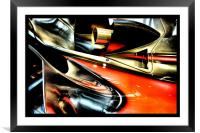 racing colours 2, Framed Mounted Print