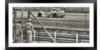 race day, Framed Mounted Print