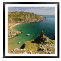 Prawle Point, Framed Mounted Print