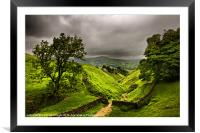 In England's green and pleasant land, Framed Mounted Print